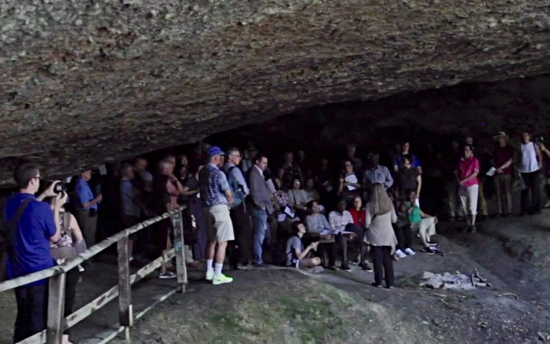 Baptists gathered for worship in cave outside Zurich once used by Anabaptists