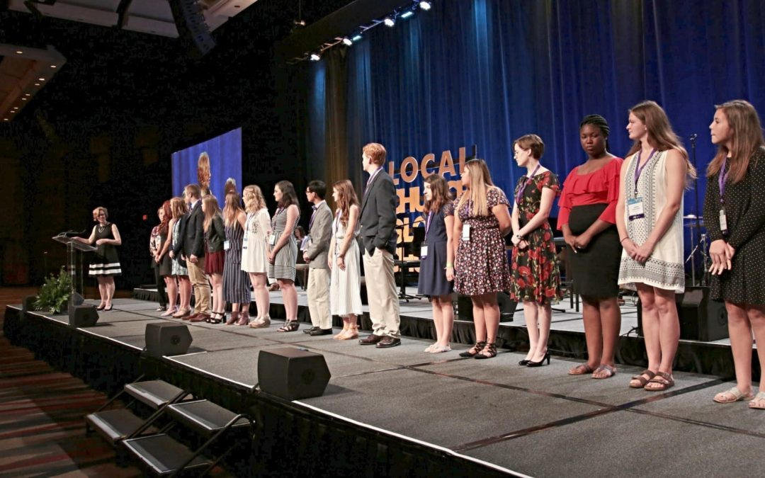 25 Youth to Know recognized at the 2018 CBF general assembly