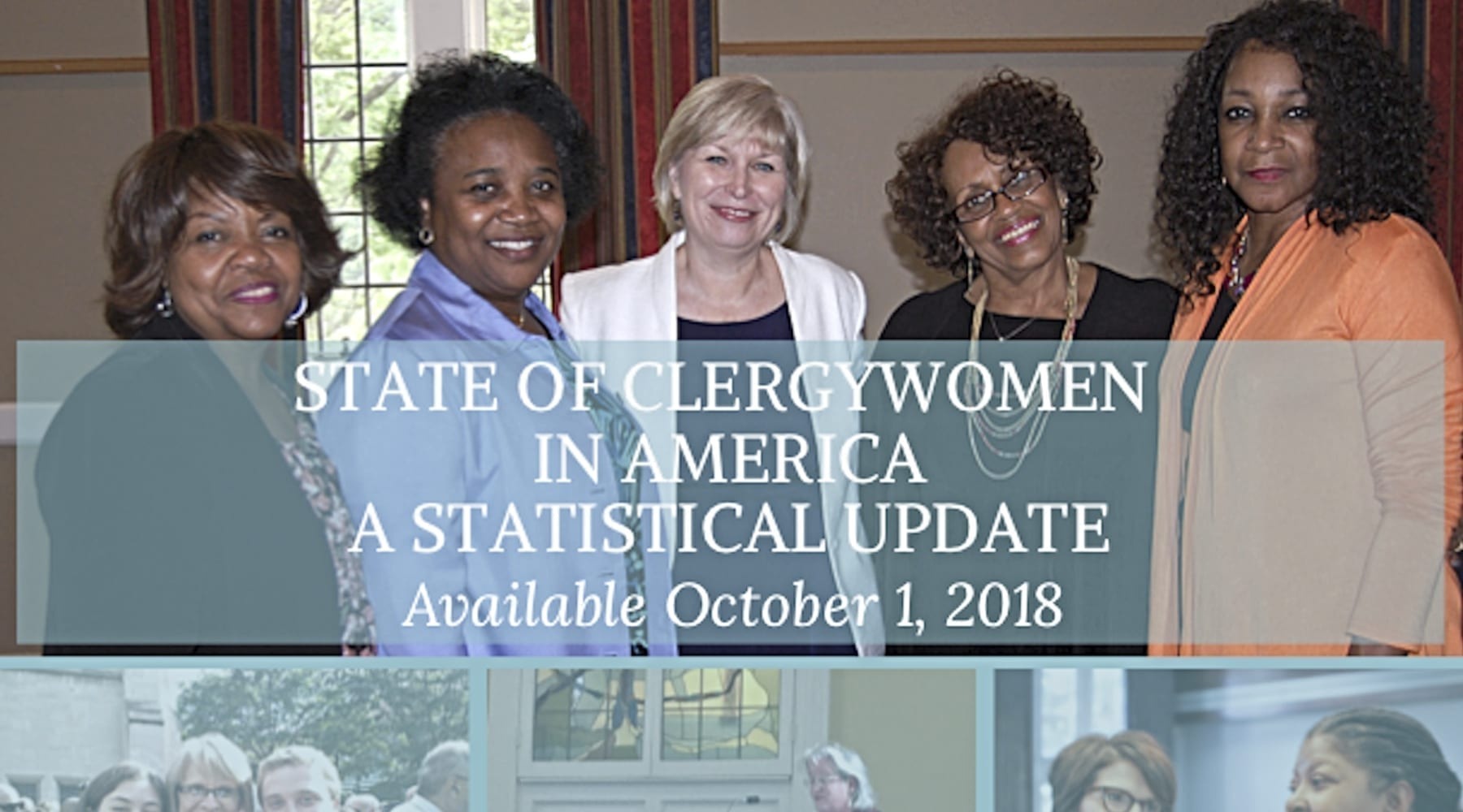 Forthcoming Report Will Document State of U.S. Clergywomen