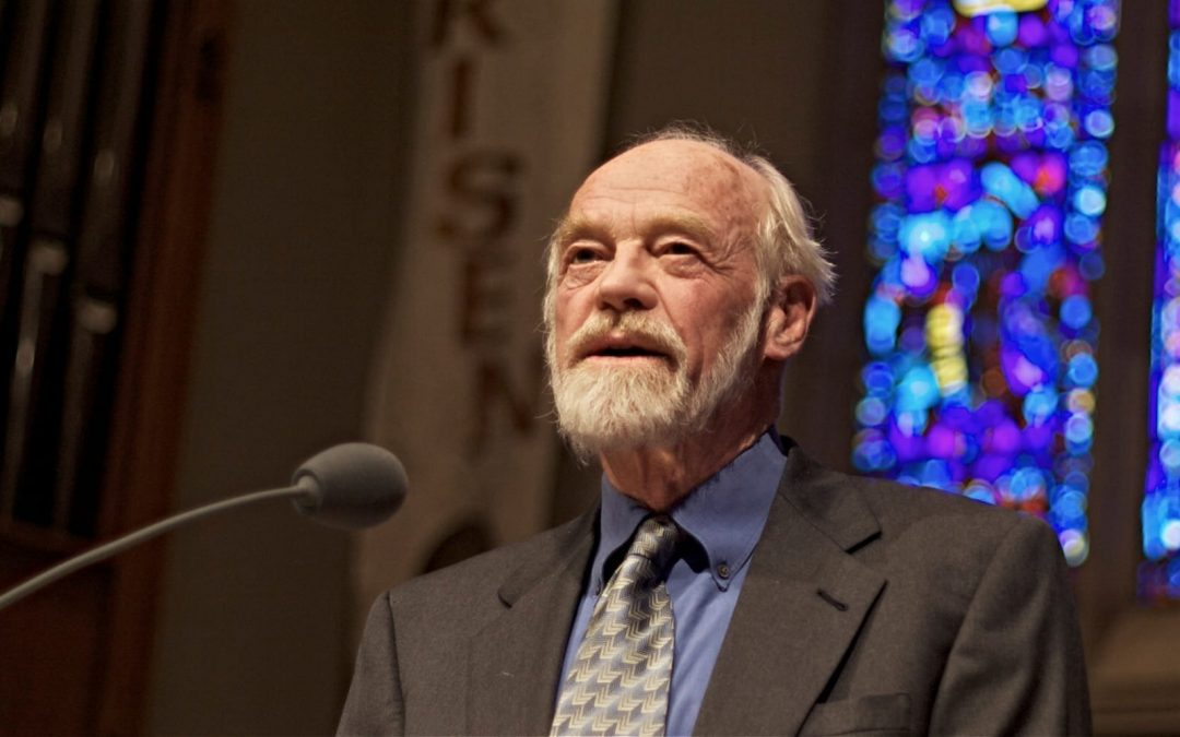Eugene Peterson preaching
