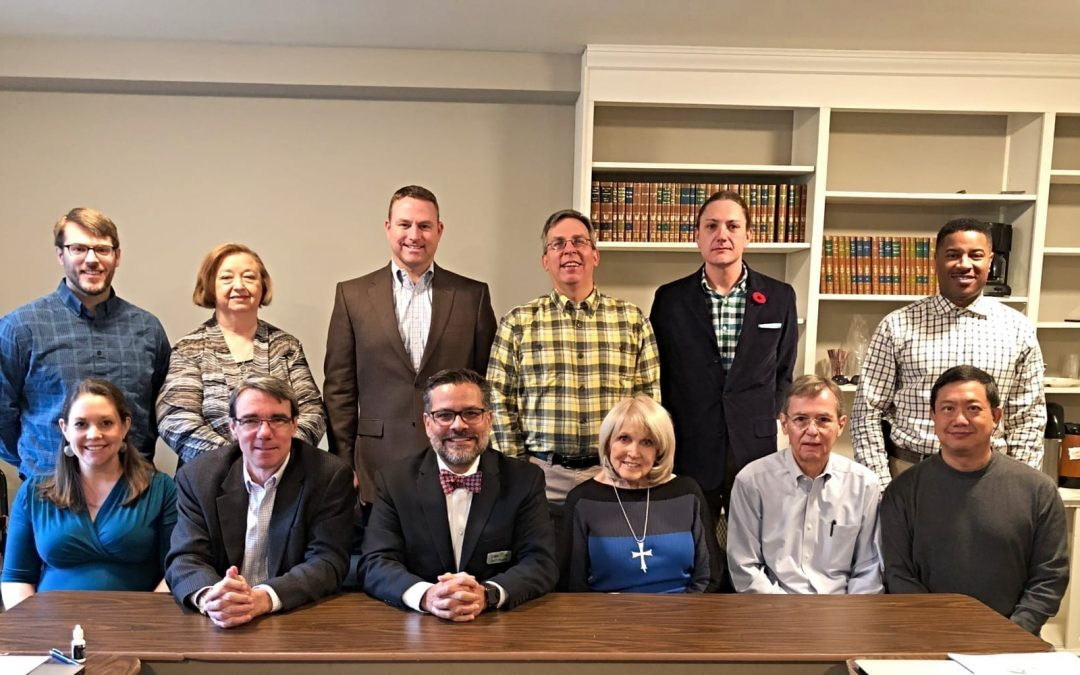 EthicsDaily.com's board of directors in 2018