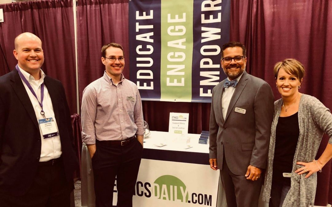 EthicsDaily.com staff at the 2018 Cooperative Baptist Fellowship general assembly