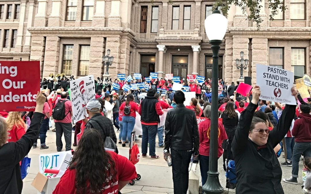 Pastors for Texas Children, Education Advocates Rally at Capitol