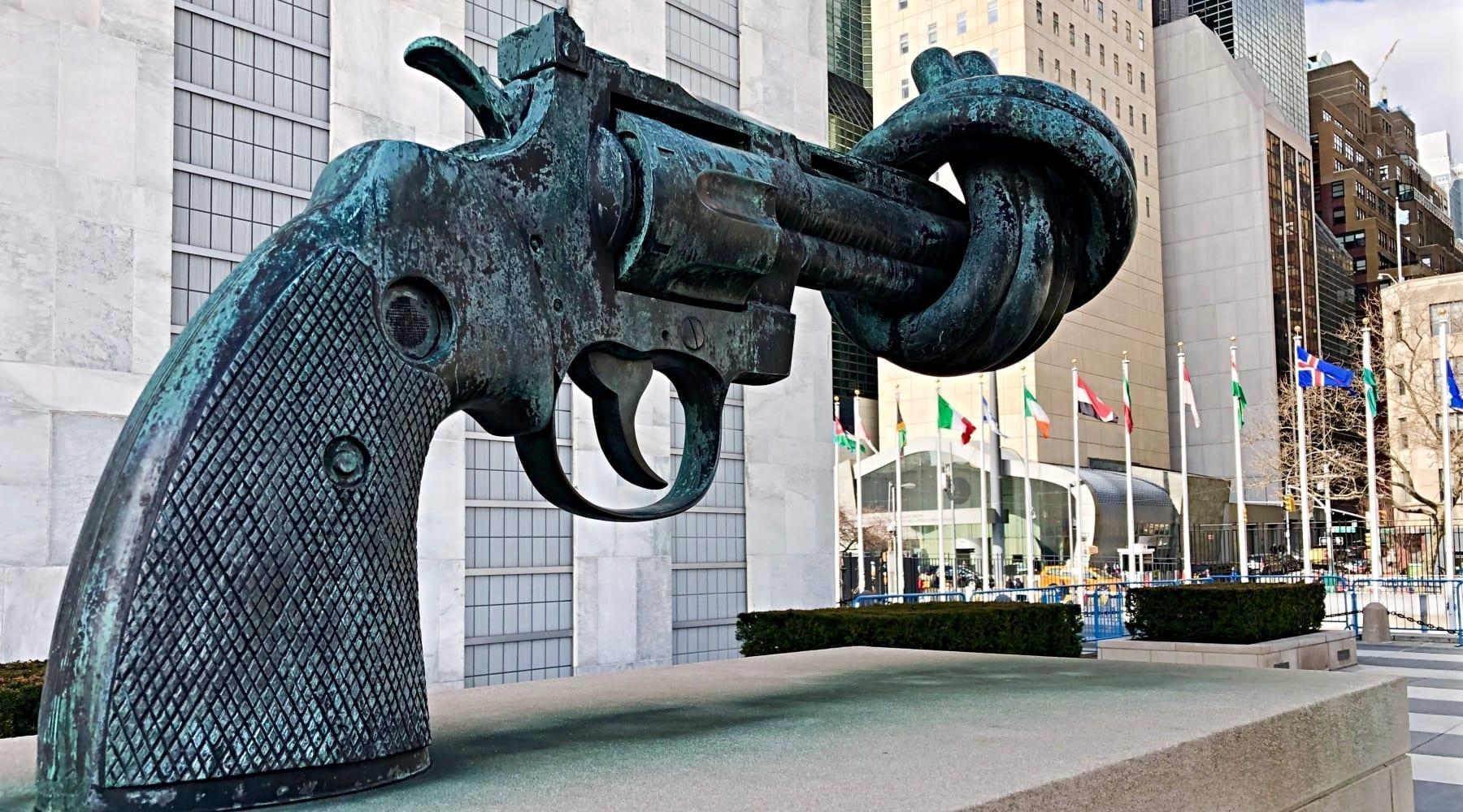 Seeking Peace Through Disarmament