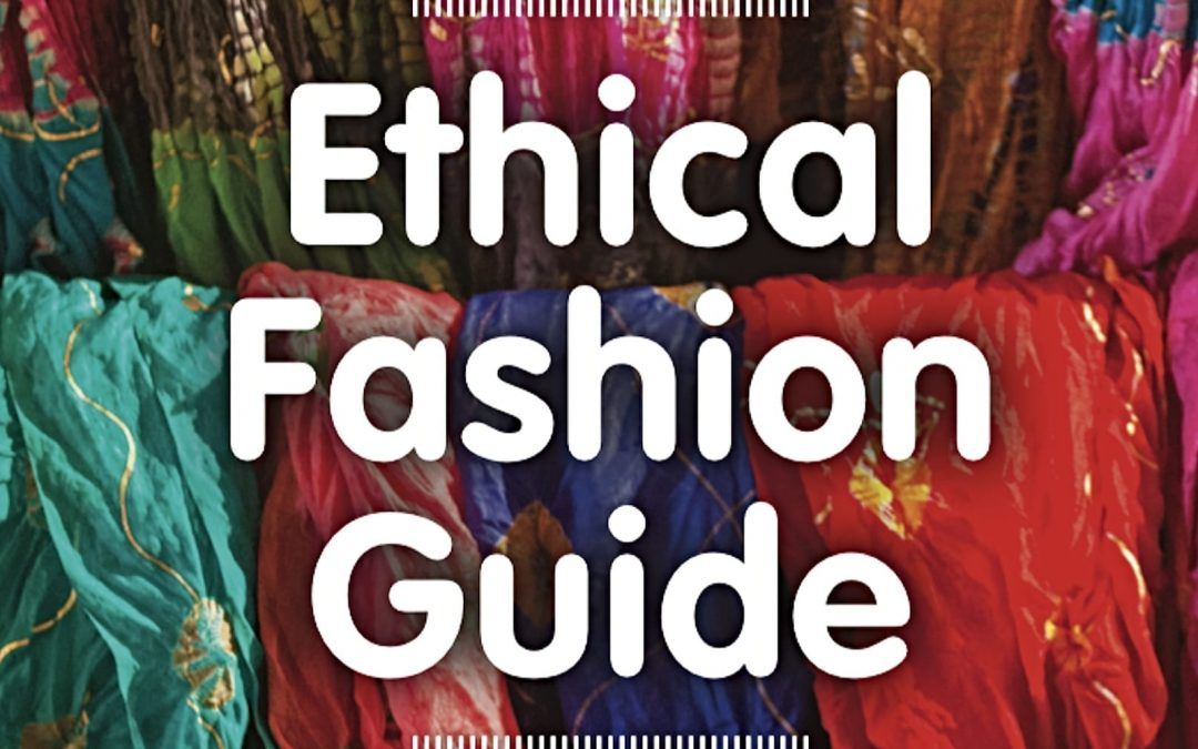 Cover to ethical fashion guide from BWAA