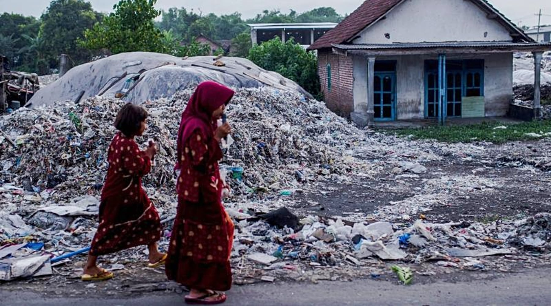 'Recyclable' Plastic Creating 'Flood' of Waste in Poorer Nations