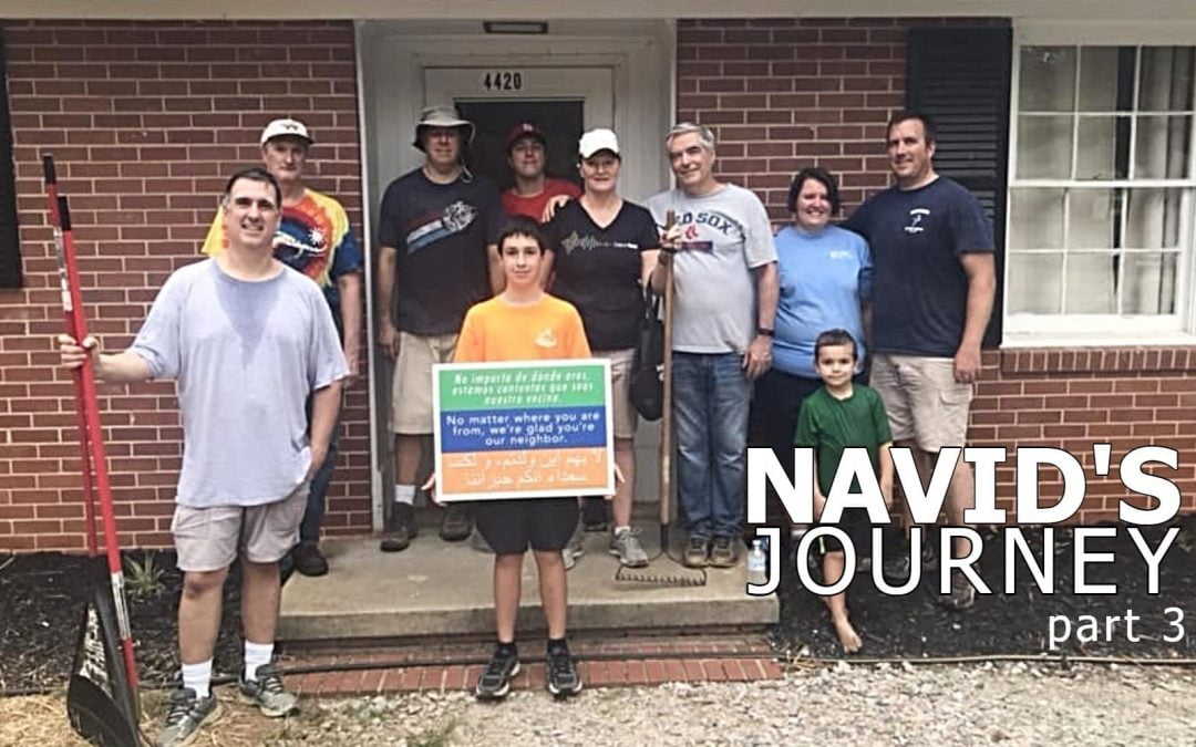Navid's Journey: A Welcome to His New Home – Part 3