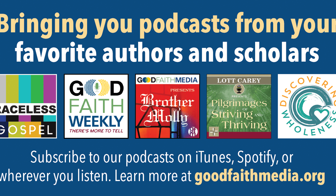 An ad for GFM's several podcasts.