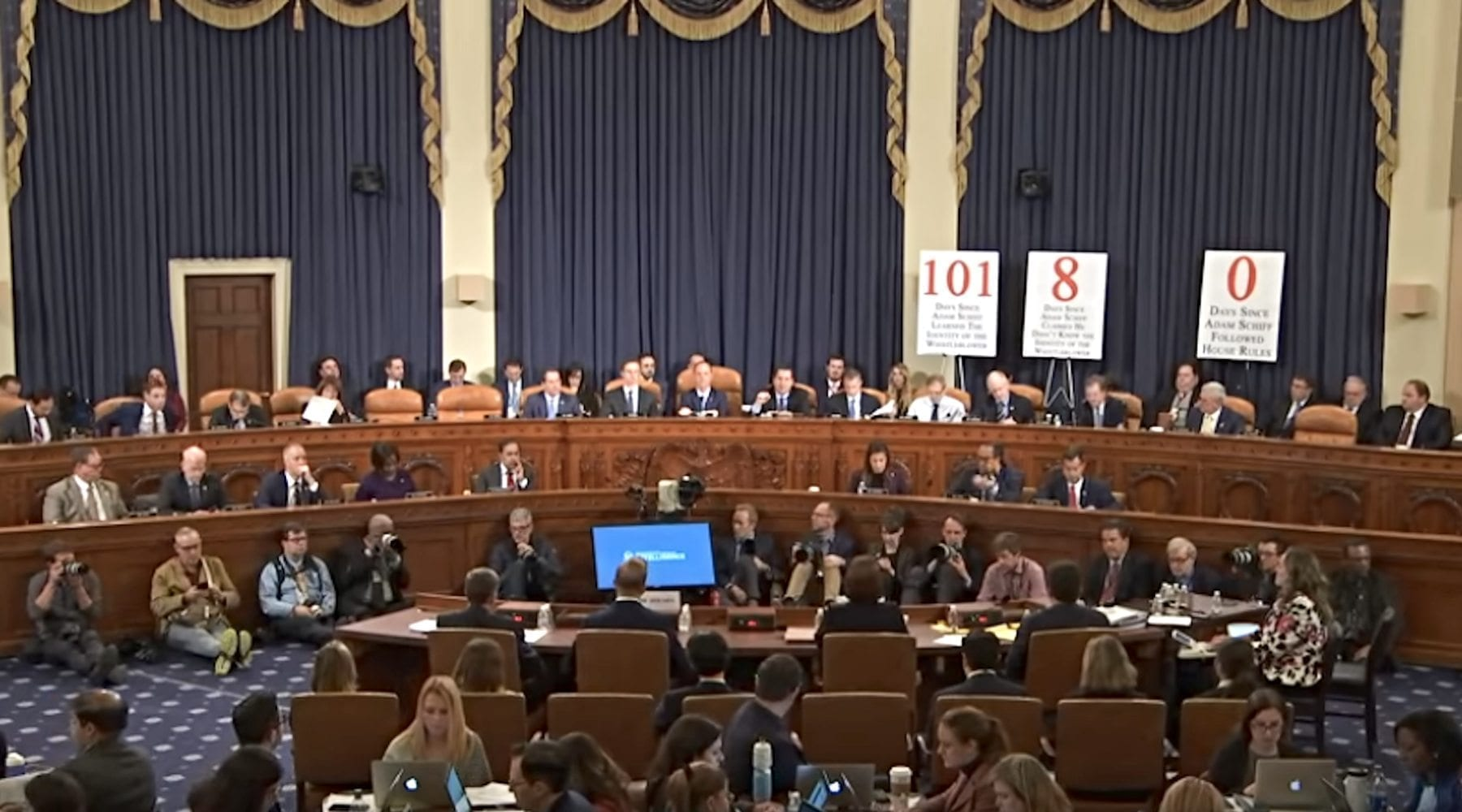 A Moment of Thankfulness While Viewing Impeachment Hearings