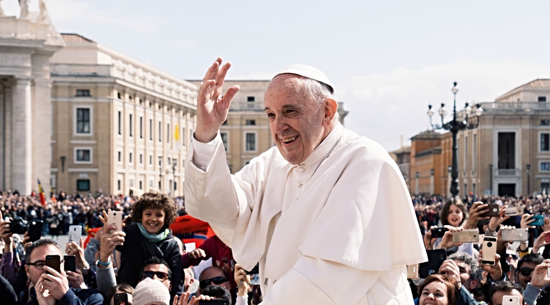 Pope: Economic Inequality Largely Unchanged Since Biblical Times