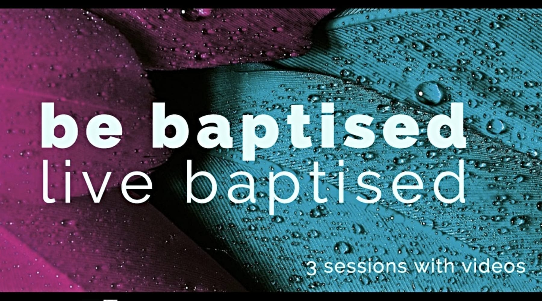 Resource to Help Churches Explain Meaning Behind Baptism