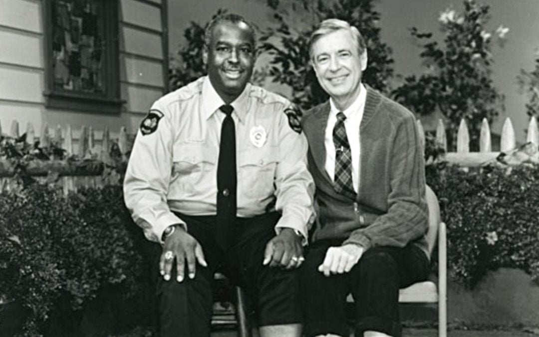 Francois Clemmons and Fred Rogers