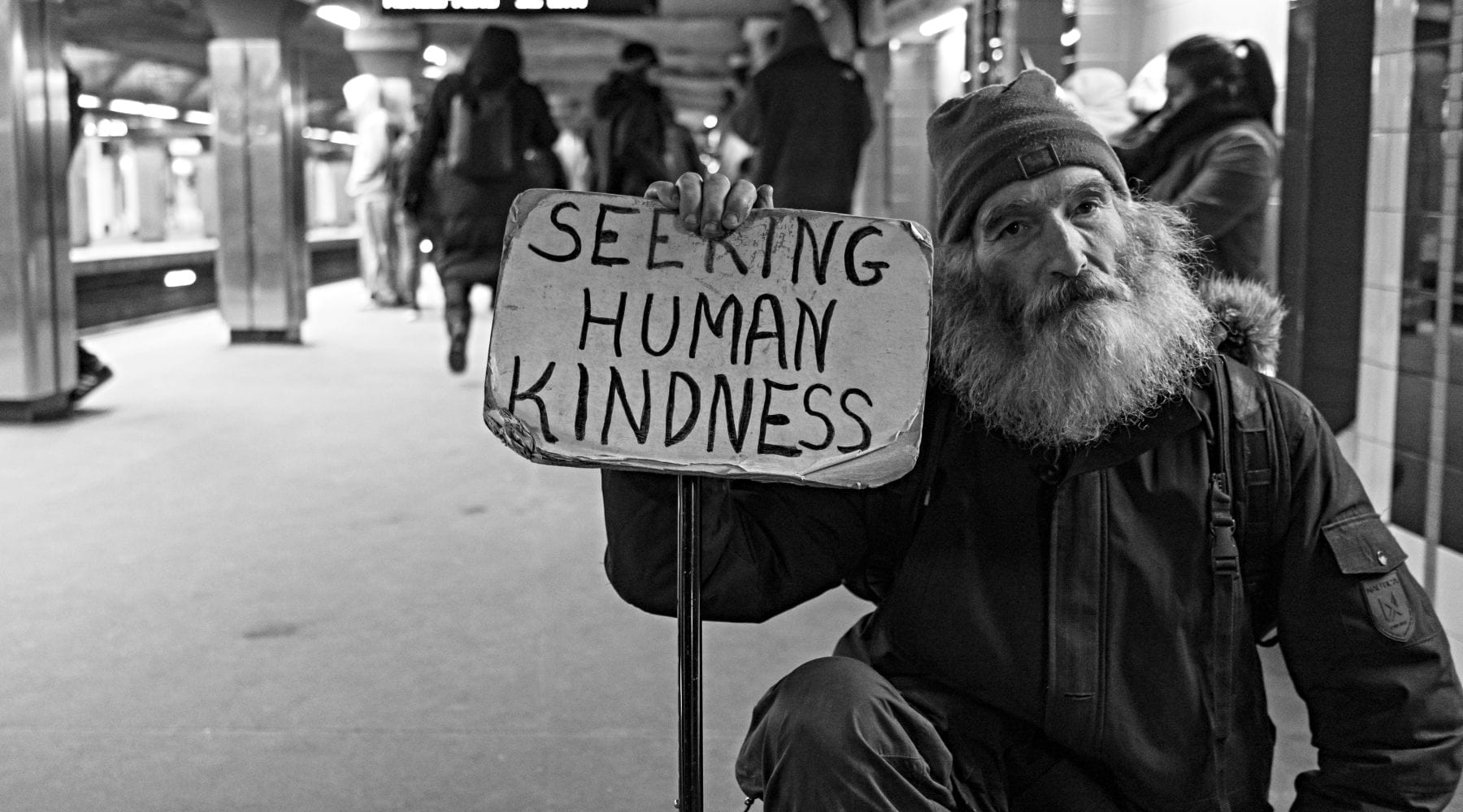 When We Treat Strangers Kindly, We're Deemed Ready for Peace