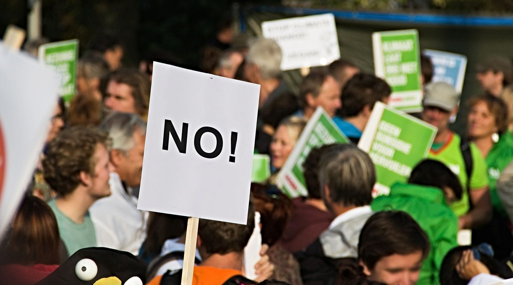 On Most Issues, Majority Says 'No' to Religion Swaying Gov't Policy