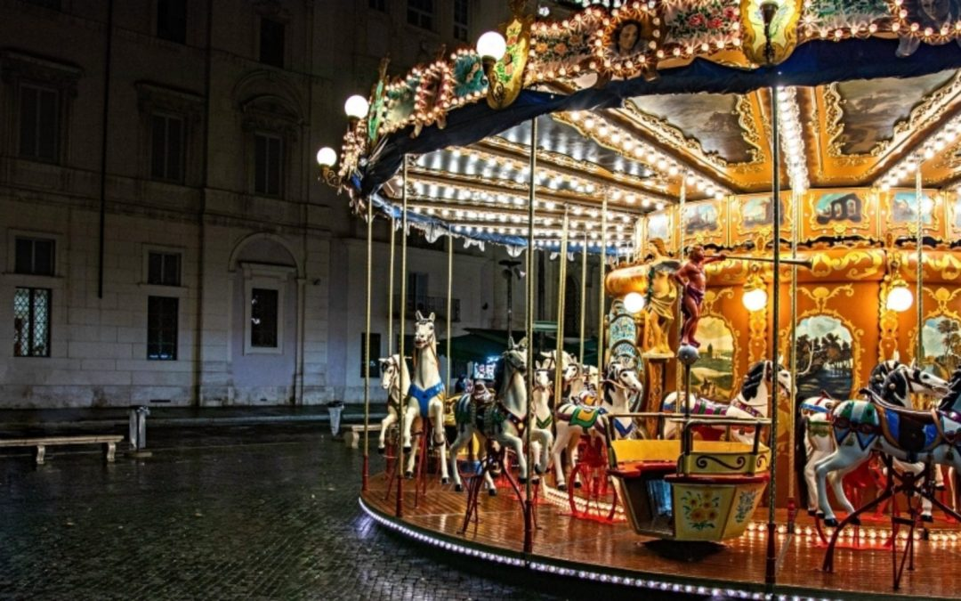 When Life's Spinning Carousel Dulls Your Senses