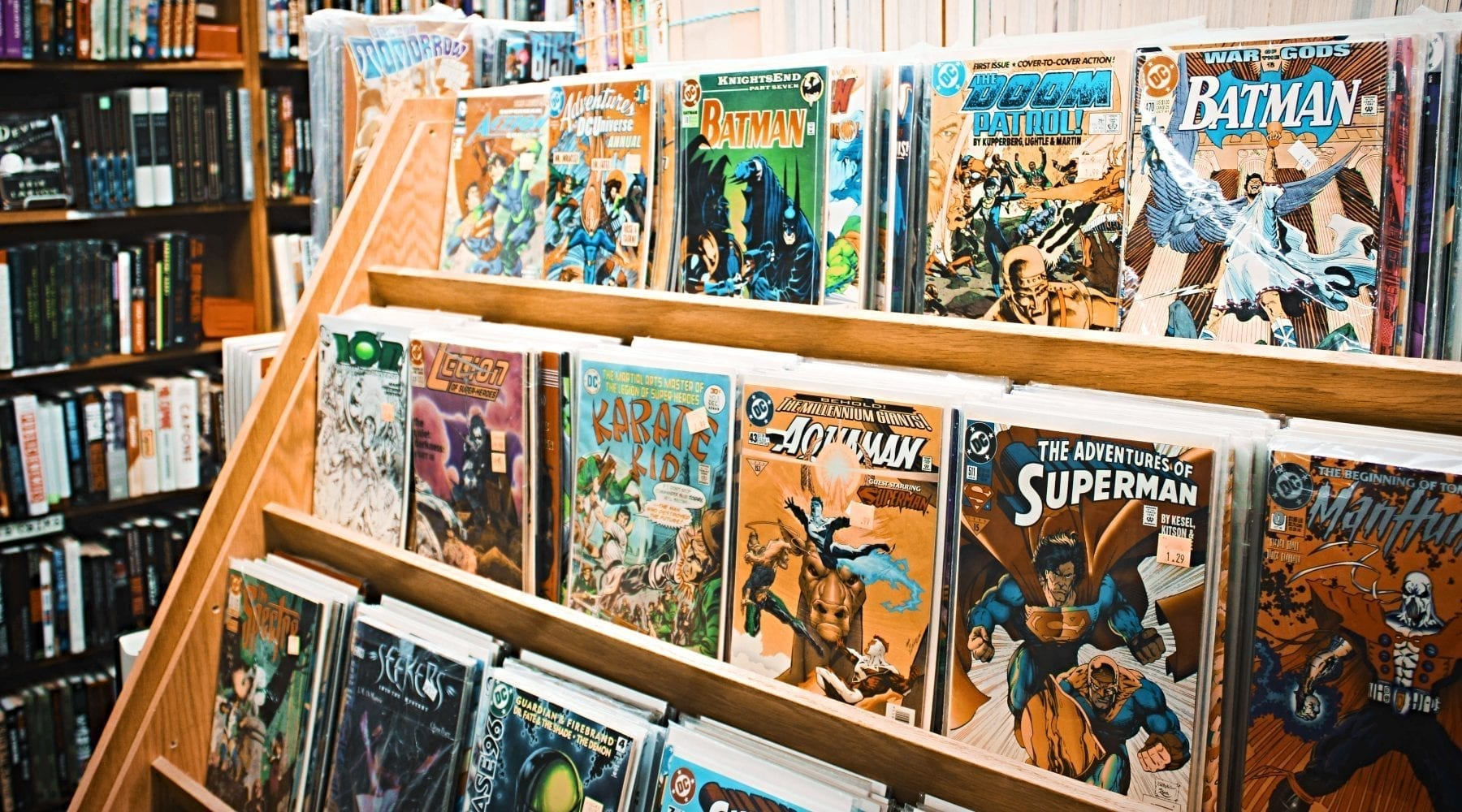 Questioning Society Discovers Jesus in Comic Books