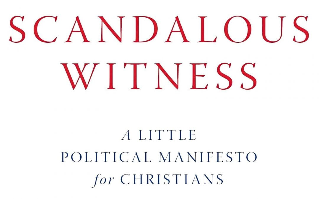 Book cover of Scandalous Witness