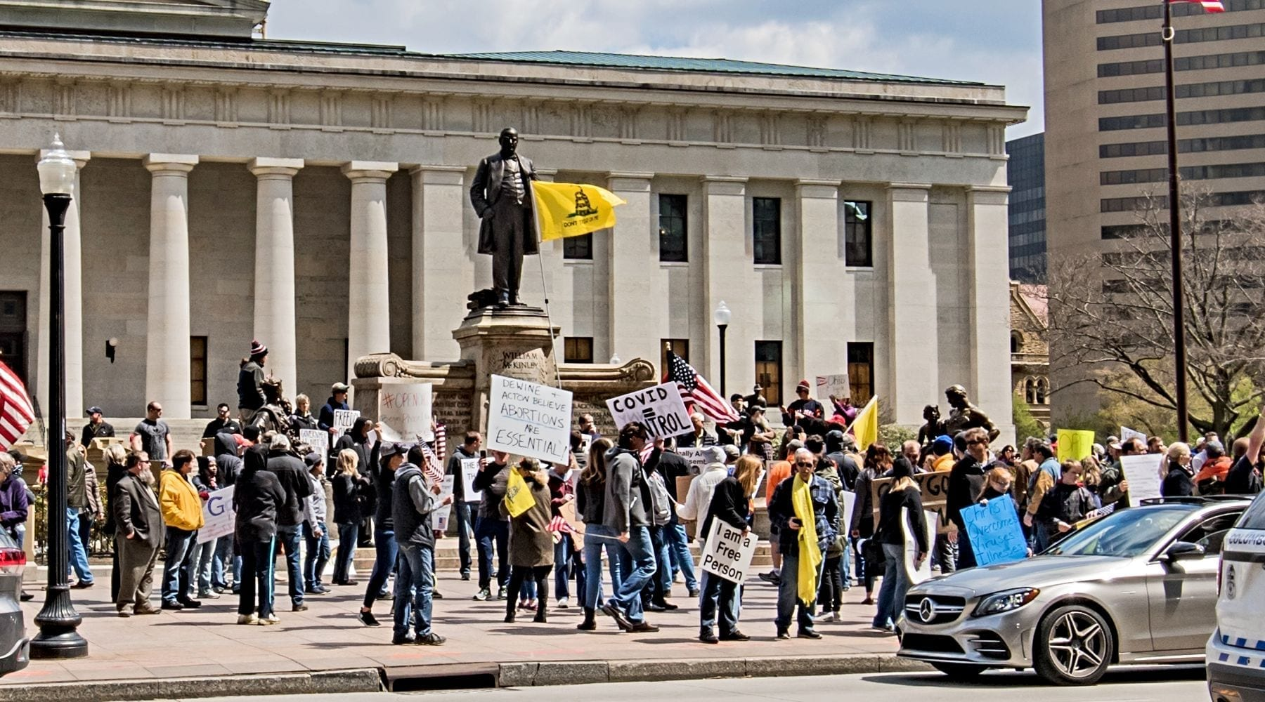 Manifest Destiny Fuels Misguided Protests to Reopen Economy