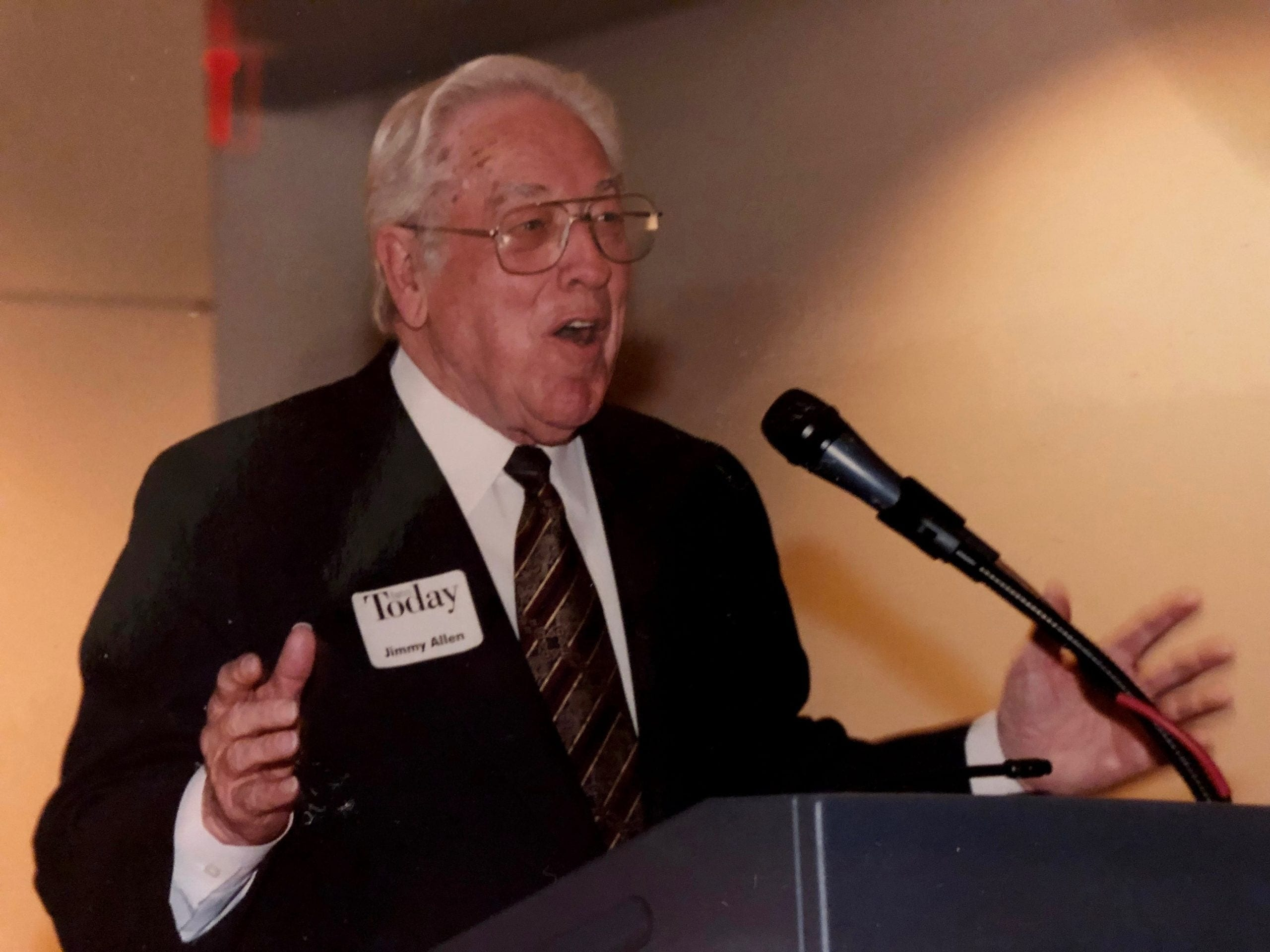 Jimmy R. Allen: 'Leadership with integrity'