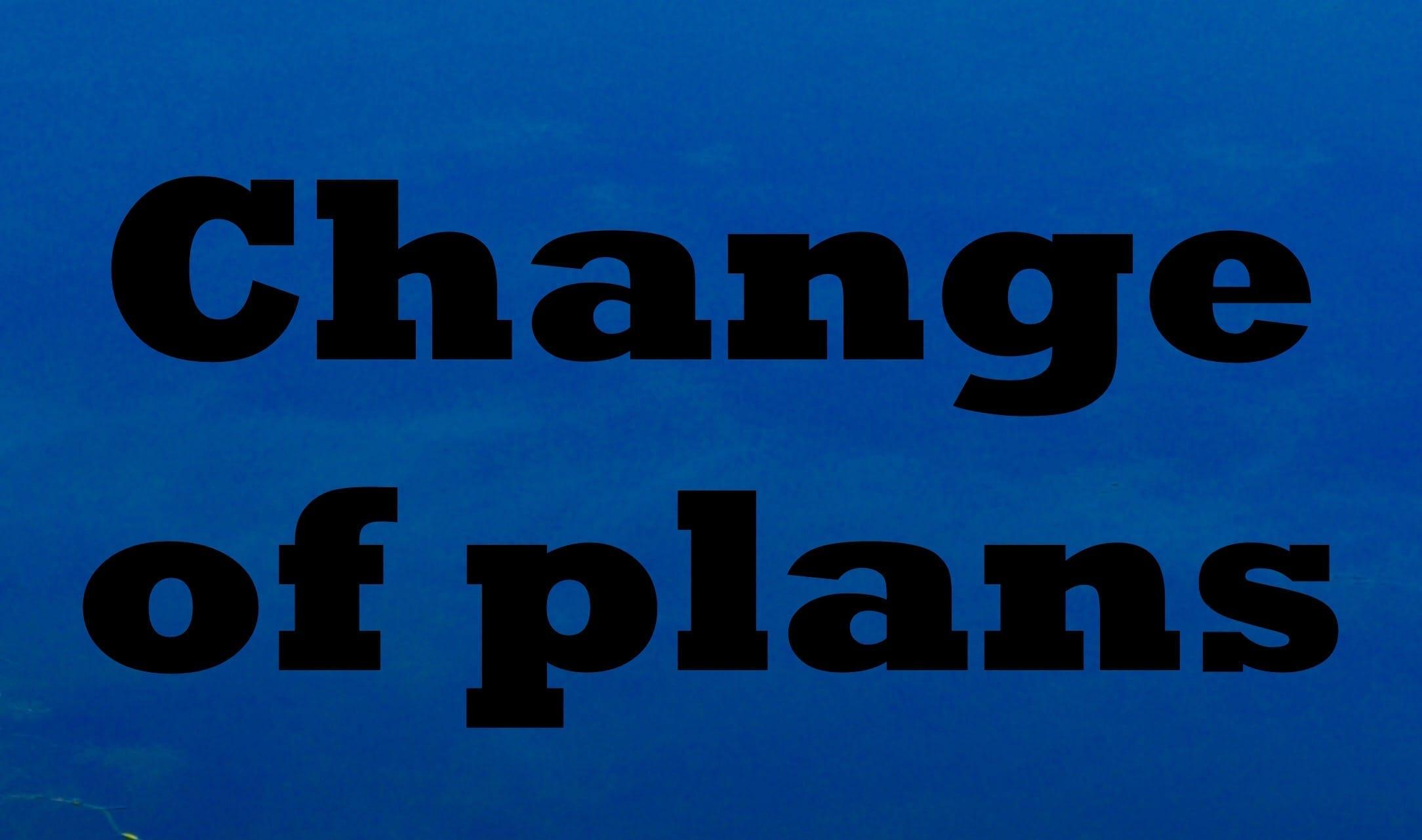 """Judson-Rice Award Dinner among """"change of plans"""""""