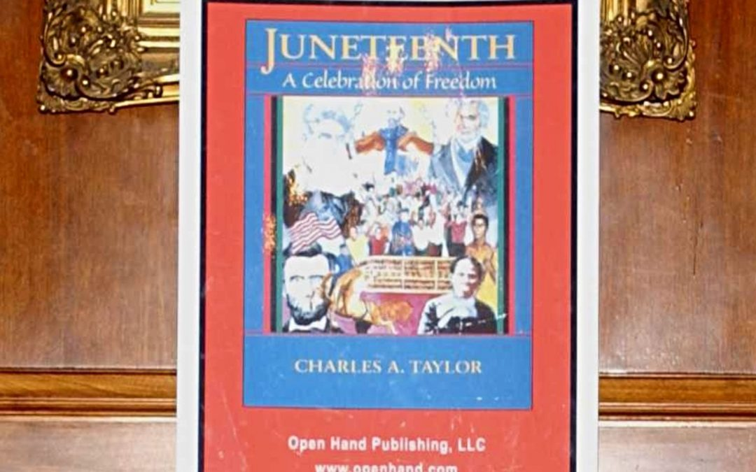 Poster publicizing Juneteenth celebration