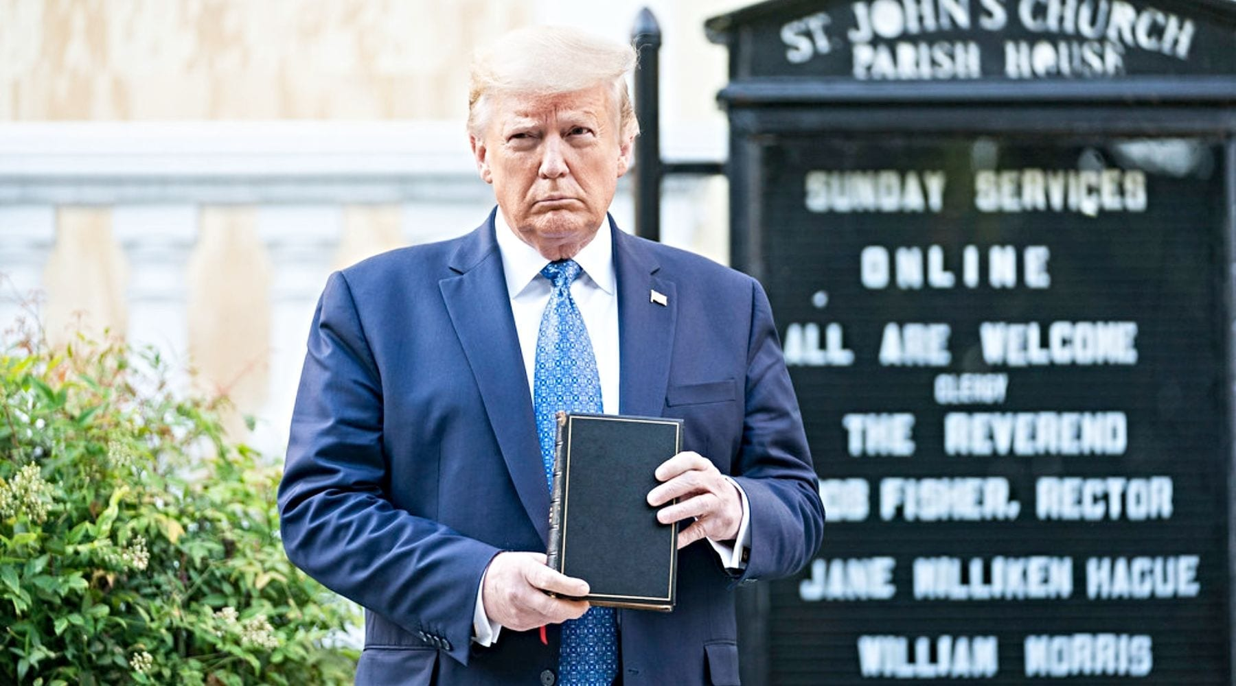 President's Photo-Op Co-opts Gospel for Non-Gospel Agenda