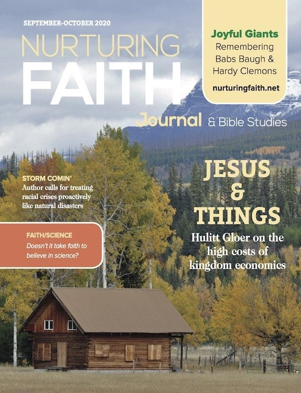 Cover of the July-August 2020 Nurturing Faith Journal