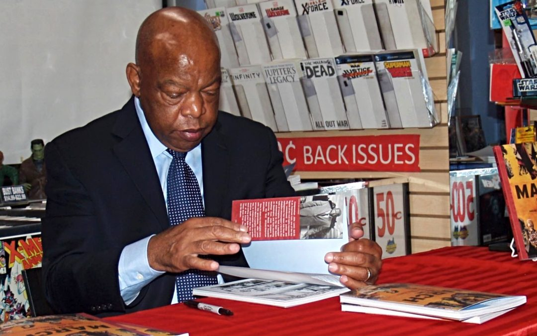 A Memorable Lunch with John Lewis Recalled