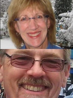 Christa Brown and David Clohessy headshots