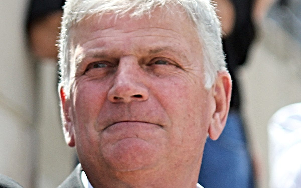 You're Wrong, Franklin Graham: God Was at DNC