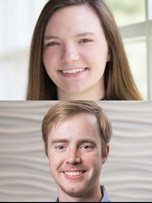 Rebekah Gordon and Christopher Adams headshot