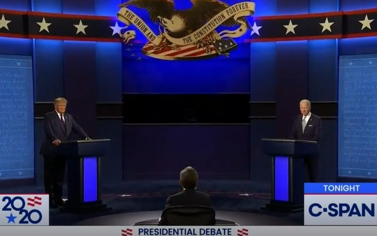 Trump-Biden Debate a Presidential Debacle