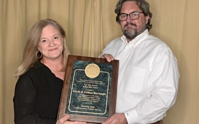 David and Colleen Burroughs Honored with Judson-Rice Award