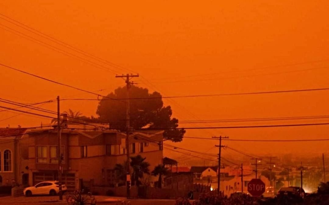 Wildfires Set Skies Aglow, Hint at Apocalypse