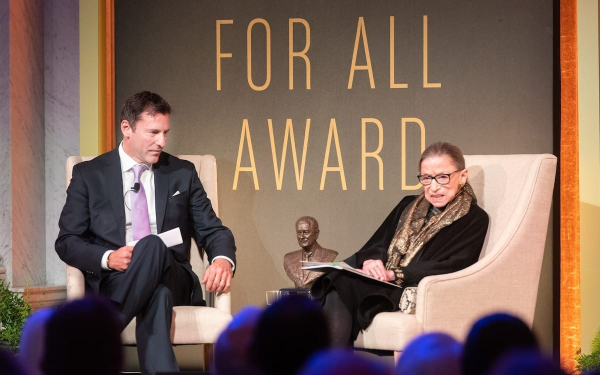 Find a Way or Make One: A Tribute to Ruth Bader Ginsburg
