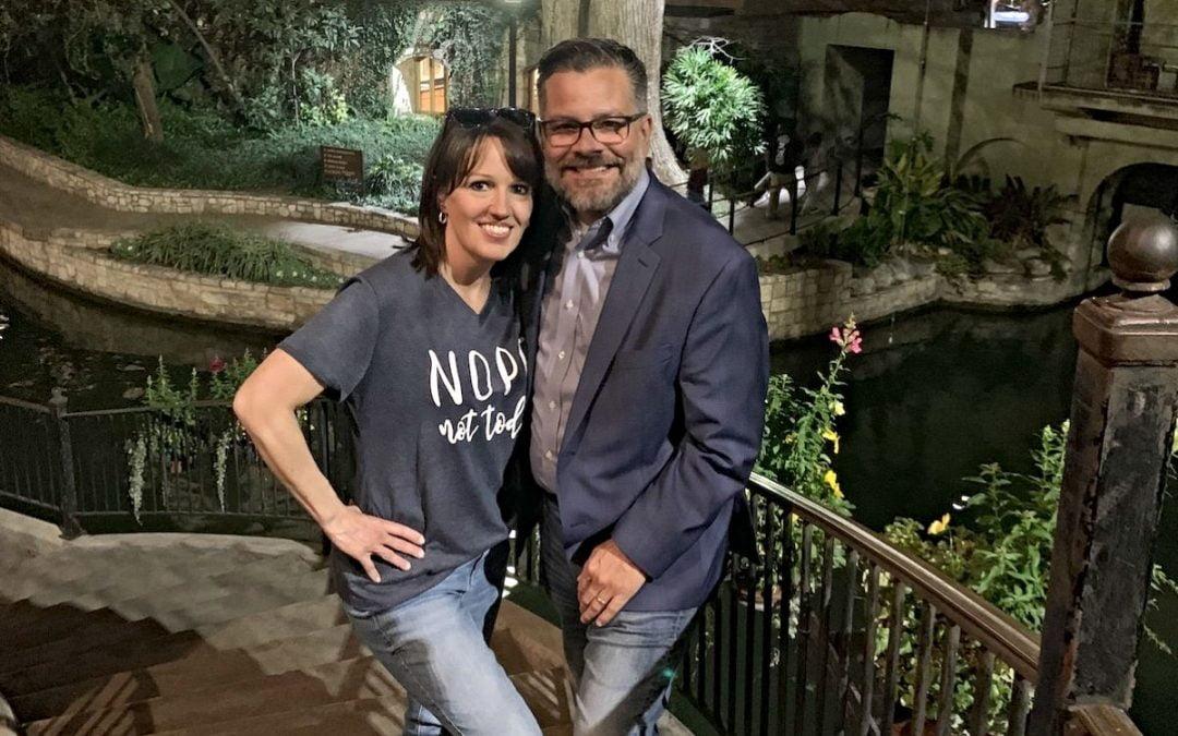 Missy Randall with husband, Mitch