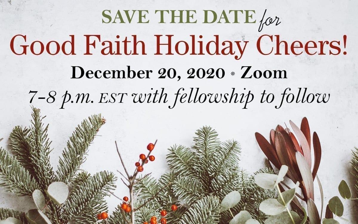 REMINDER: Holiday Cheers Virtual Gathering This Sunday