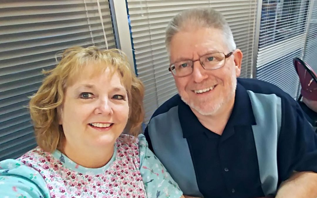 Joel Emerson with his wife