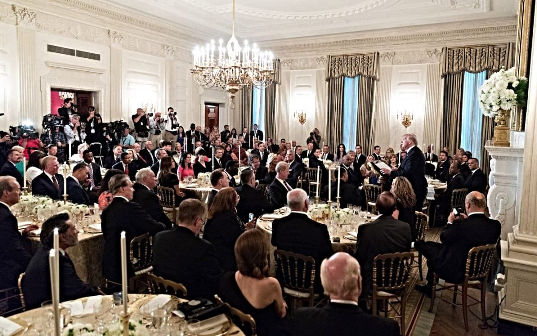 White house dinner with Trump and evangelicals
