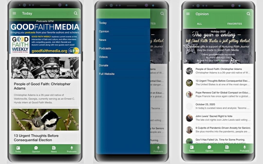 Good Faith Media Releases Mobile App