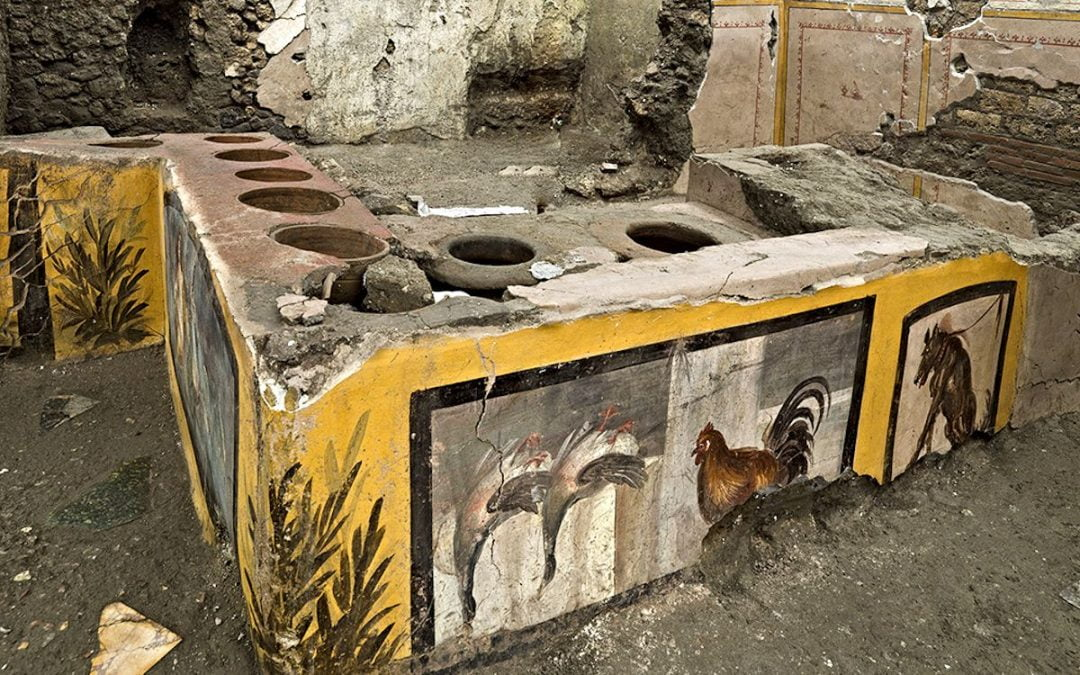 An ancient food cart