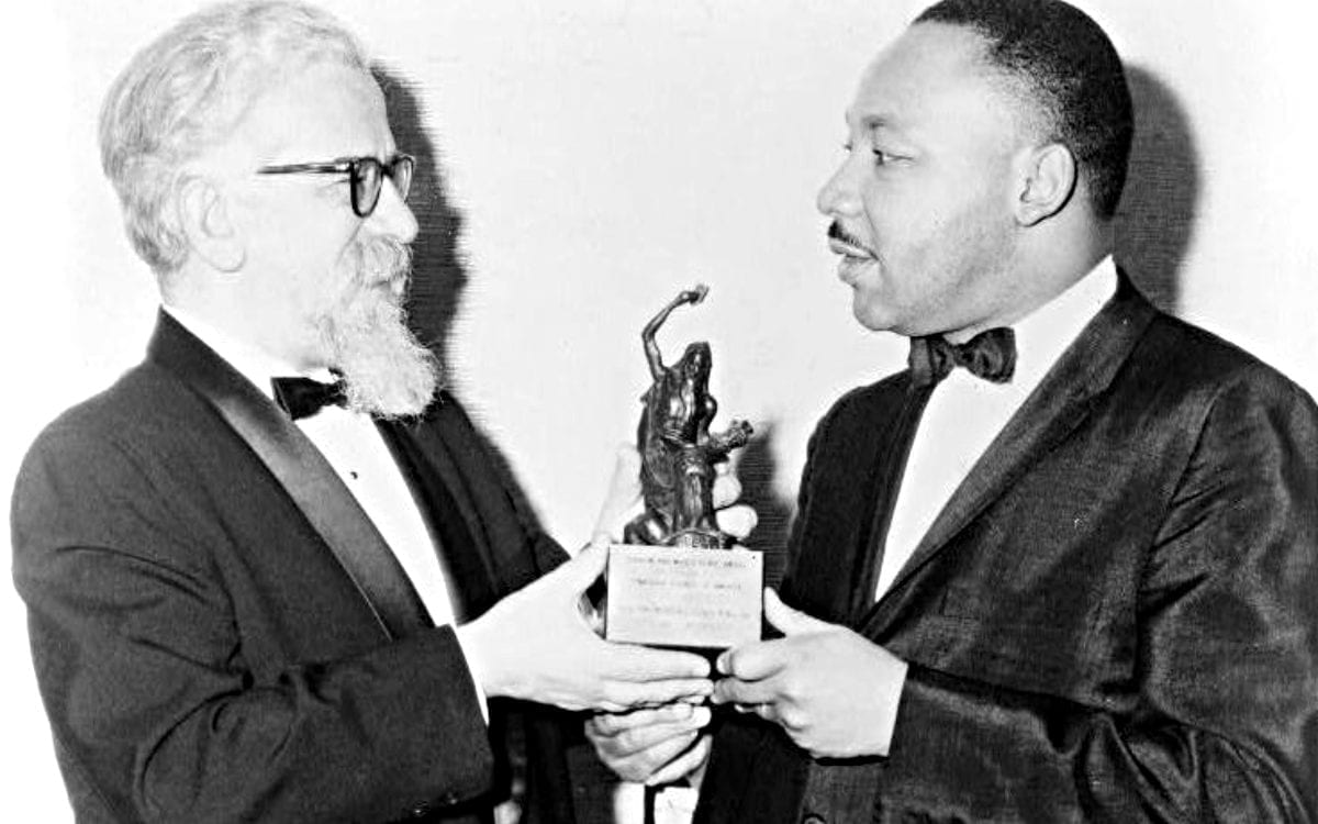 King, Heschel: Fast Friends and Activists