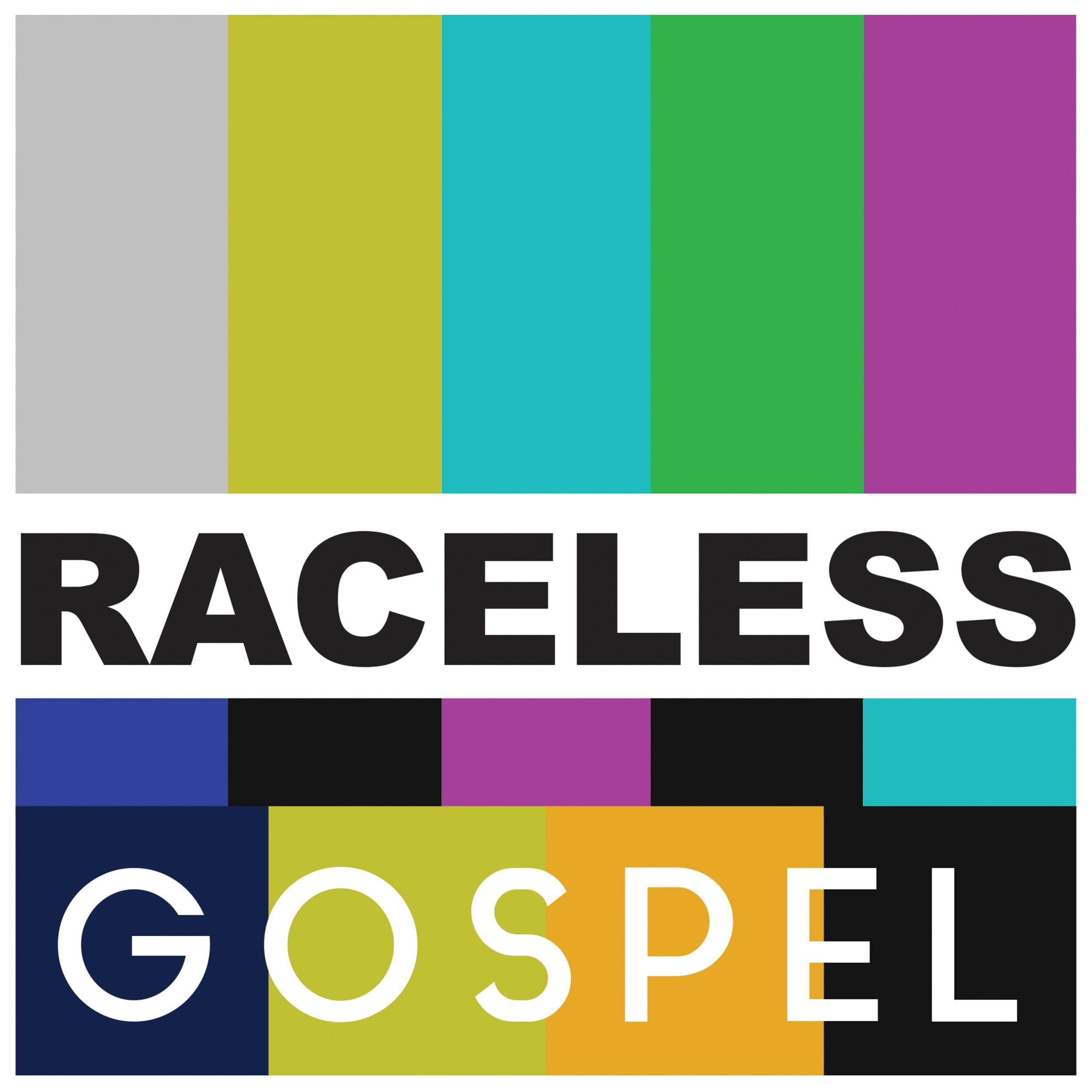Logo for The Raceless Gospel podcast
