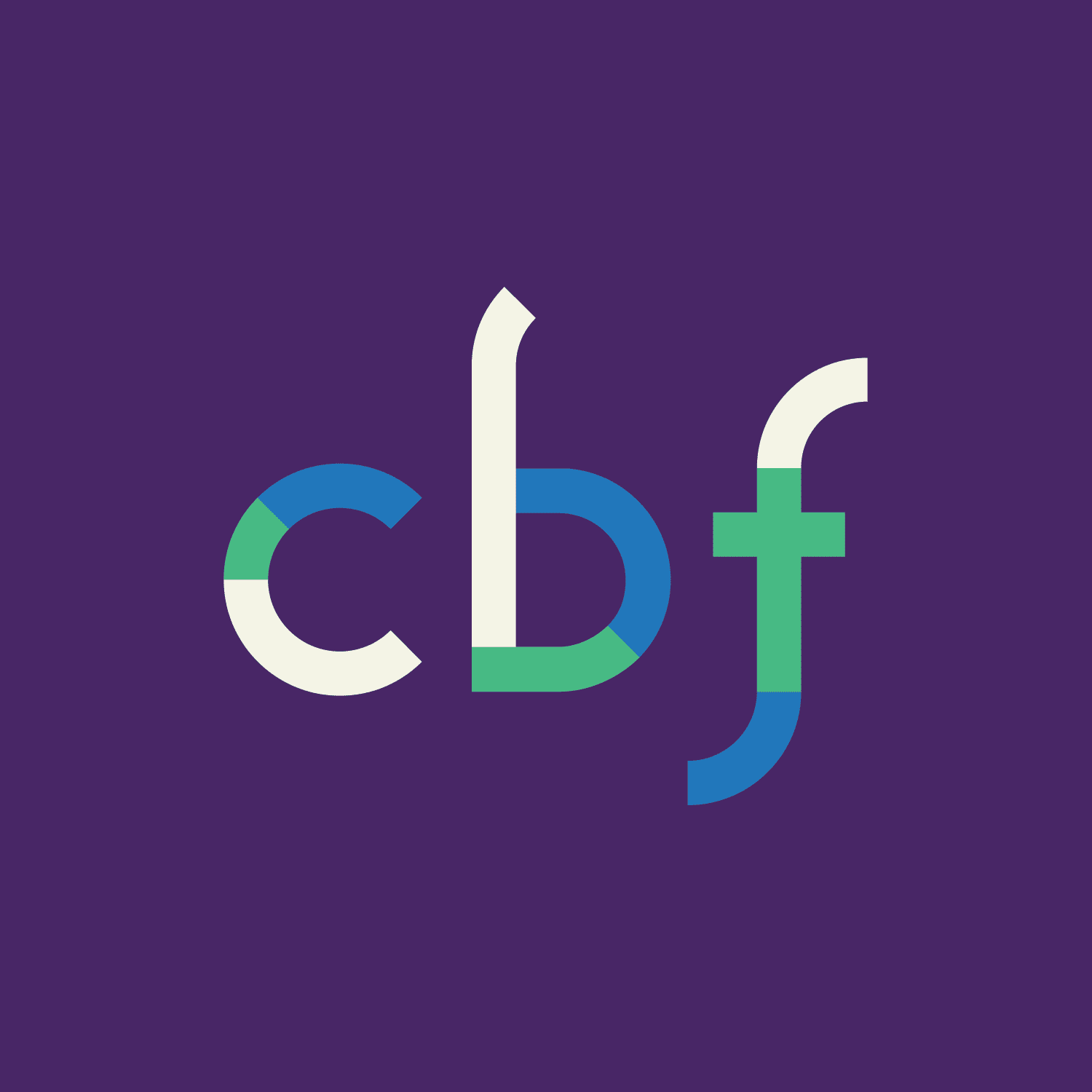 Cooperative Baptist Fellowship logo with purple background