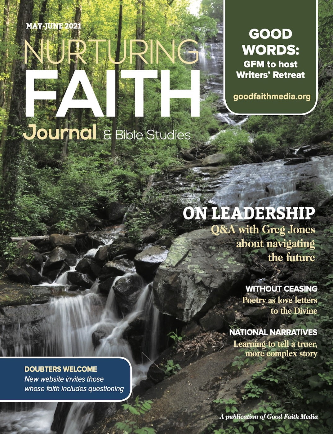 May-June 2021 cover of Nurturing Faith Journal
