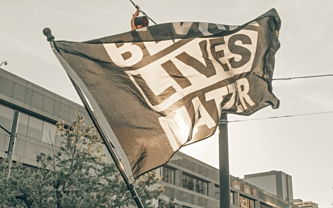 Black Lives Matter flag