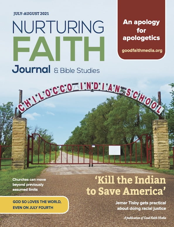 Cover for the July-August 2021 Nurturing Faith Journal