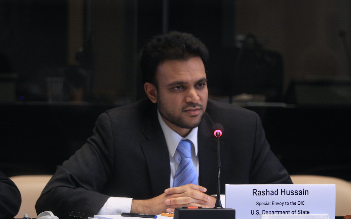 Rashad Hussain 'Uniquely Qualified' for Religious Freedom Post