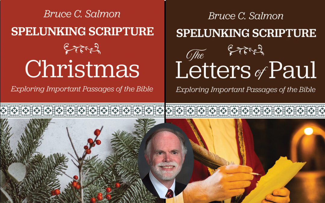 Go 'Spelunking' in Scripture with Two Nurturing Faith Books