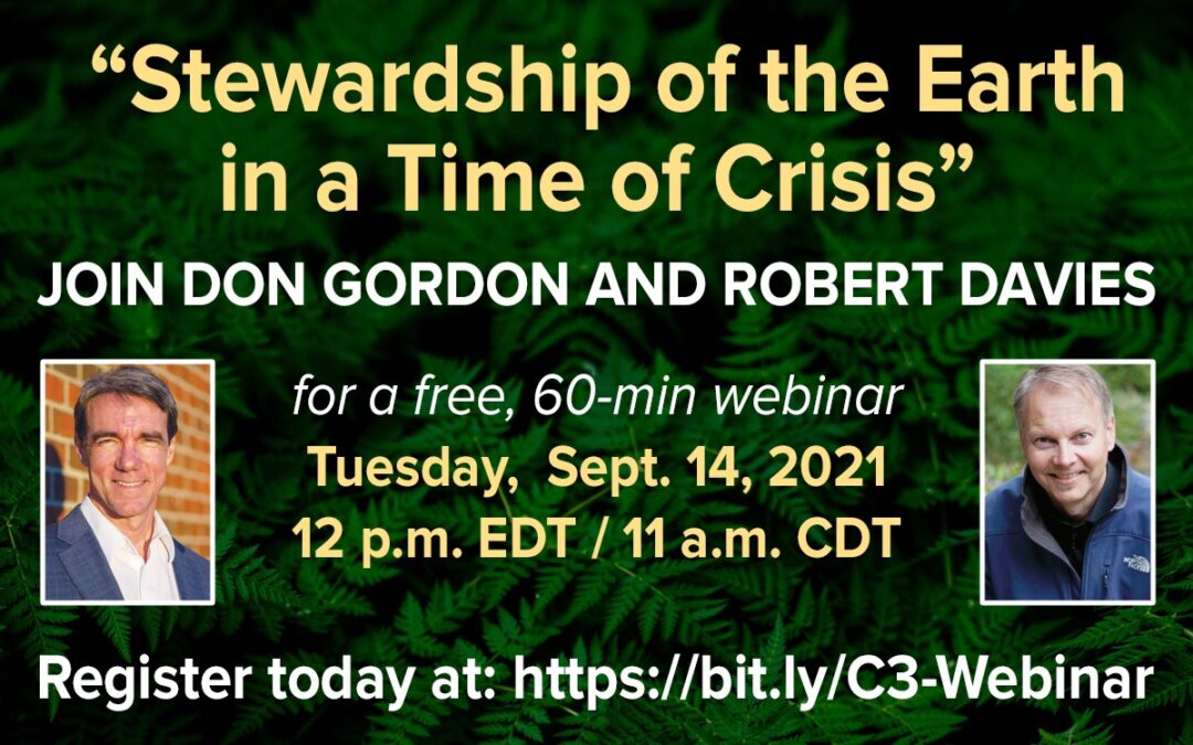 September Webinar to Focus on Faith Response to Climate Change